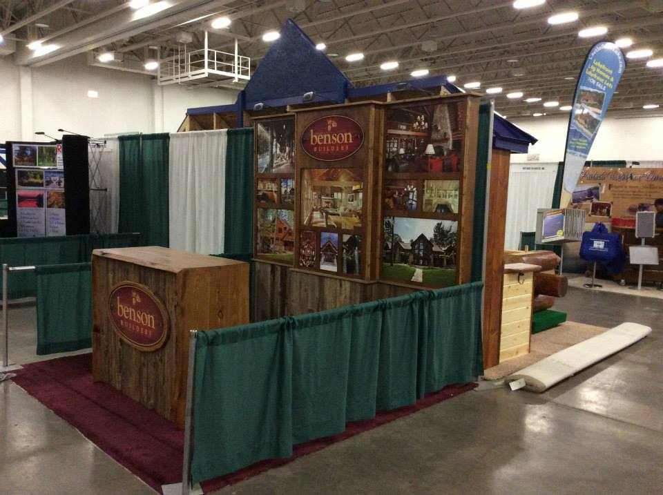 Lake Home & Cabin Show, Jan 2015