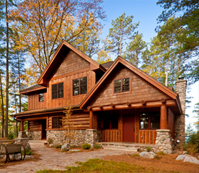 About Us - Benson Home Builders | Custom Log Home Builders, Lodges